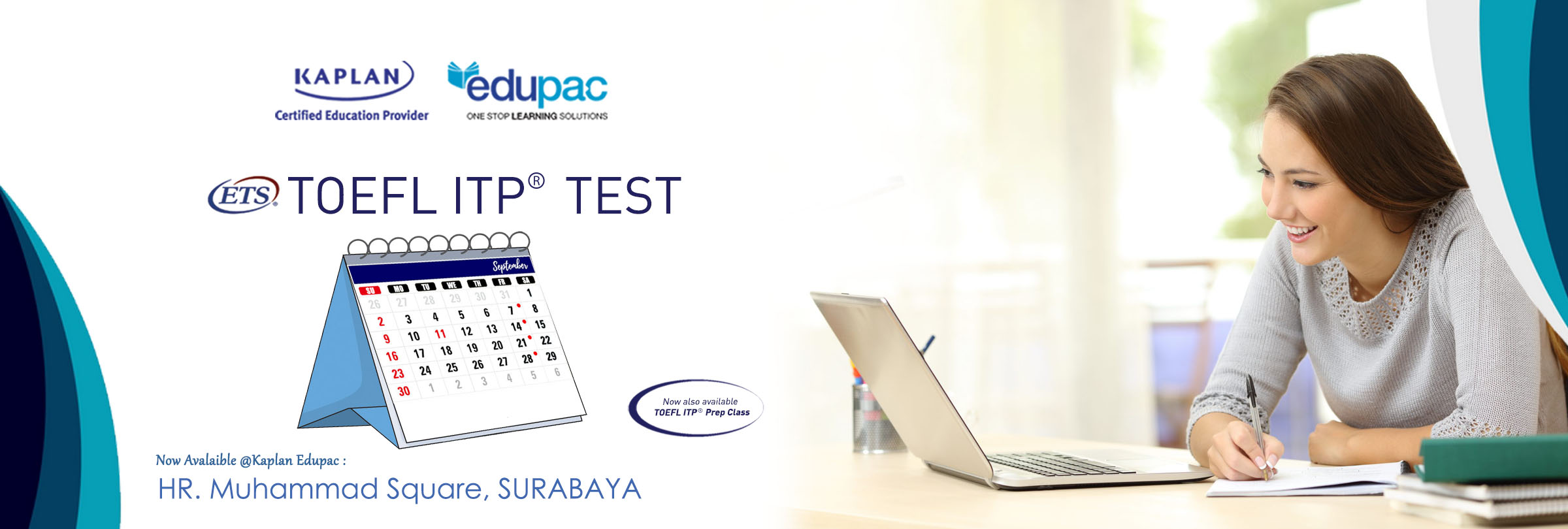 Surabaya TOEFL ITP Test Schedule for September 2018