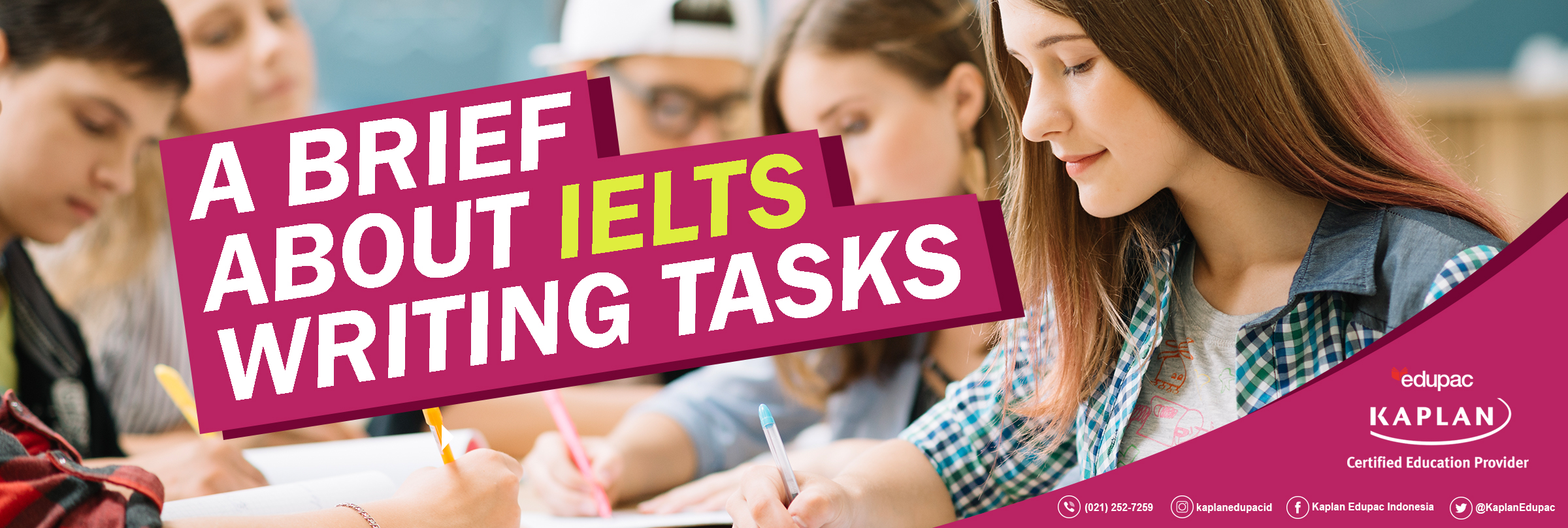 A BRIEF ABOUT IELTS WRITING TASKS
