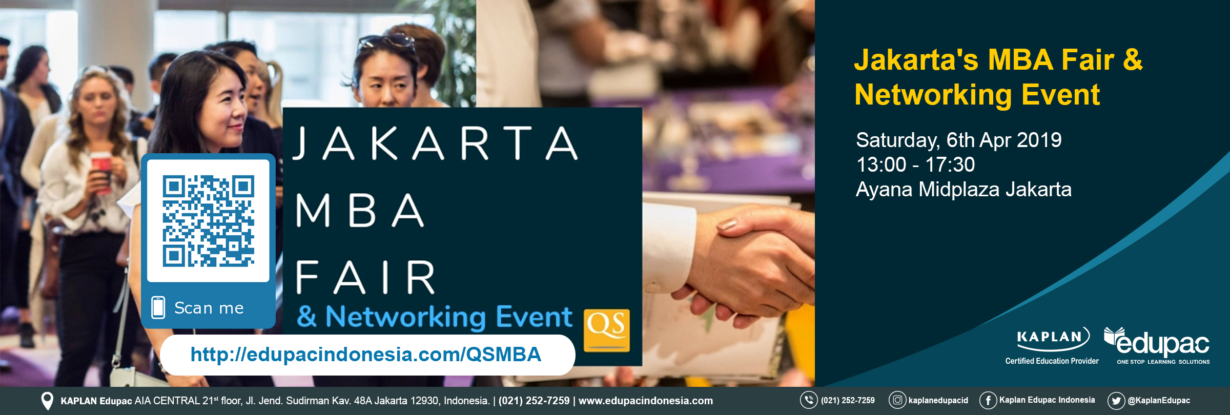 QS CONNECT MBA FAIR 2019