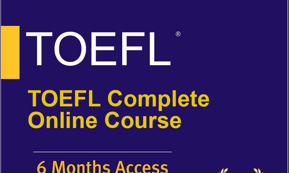 Kaplan Edupac – TOEFL Complete Online Course