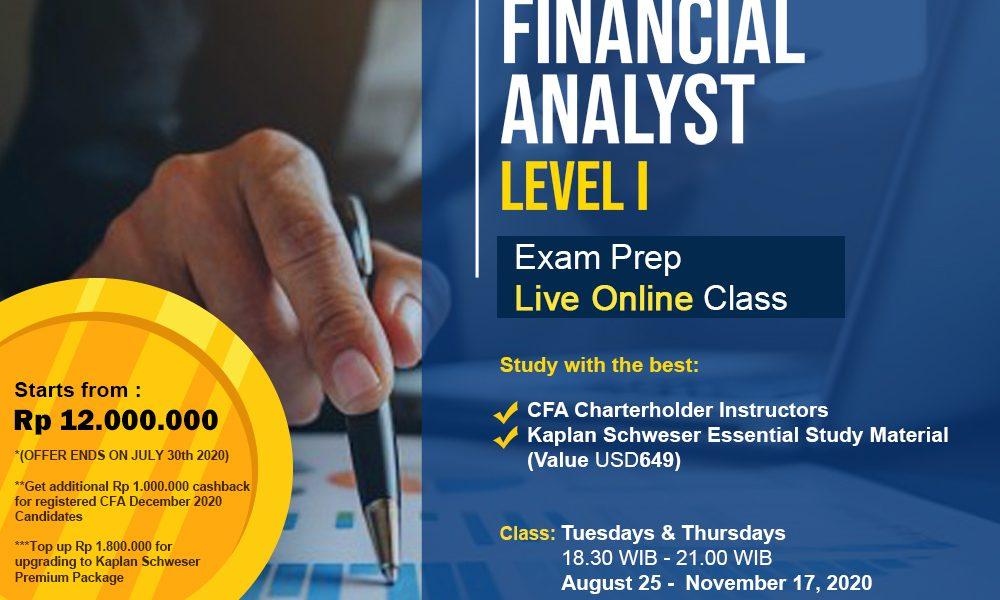 Chartered Financial Analyst (CFA) Level 1 Preparation