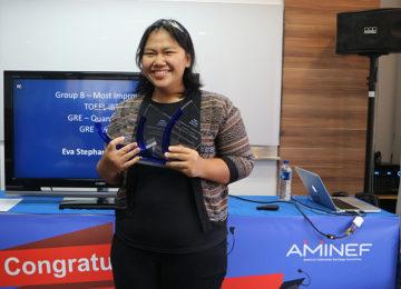 Aminef - Pemenang Piagam Penghargaan